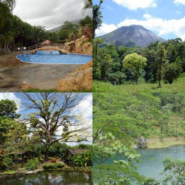 Arenal Volcano and Lake Area