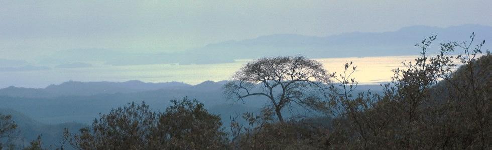 view of Golfo Nicoya from San Ramon Costa Rica property
