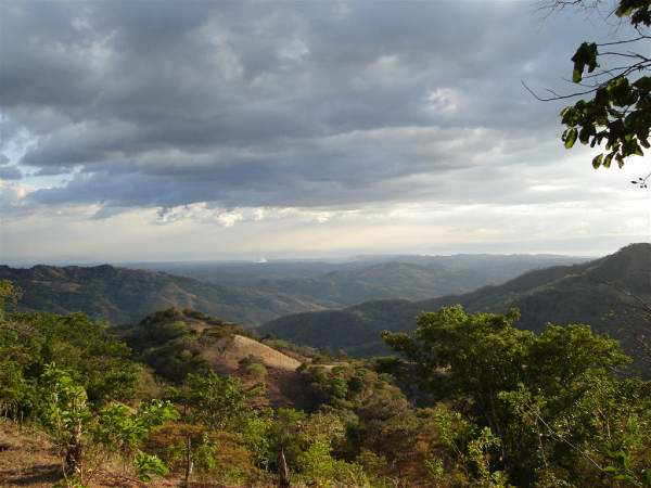 View from Costa Rica property near San Ramon