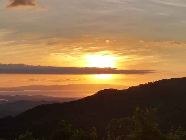 Sunset San Ramon Central Valley Costa Rica Lot For Sale