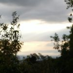 Ground level view from Lot 1 at Rancho Silencio Costa Rica