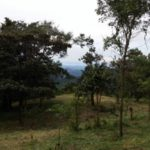Lot 4 from the hill aboveproperty for sale at Rancho Silencio near San Ramon Costa Rica
