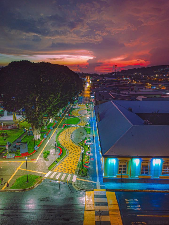 San Ramon Costa Rica downtown